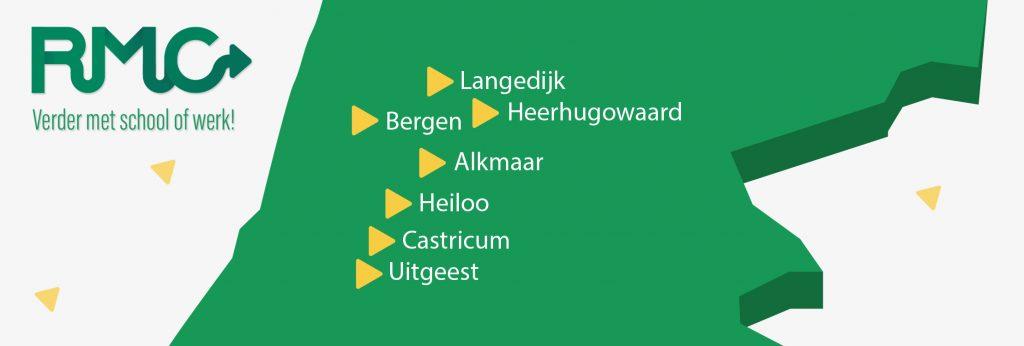logo RMC met afbeelding regio Alkmaar