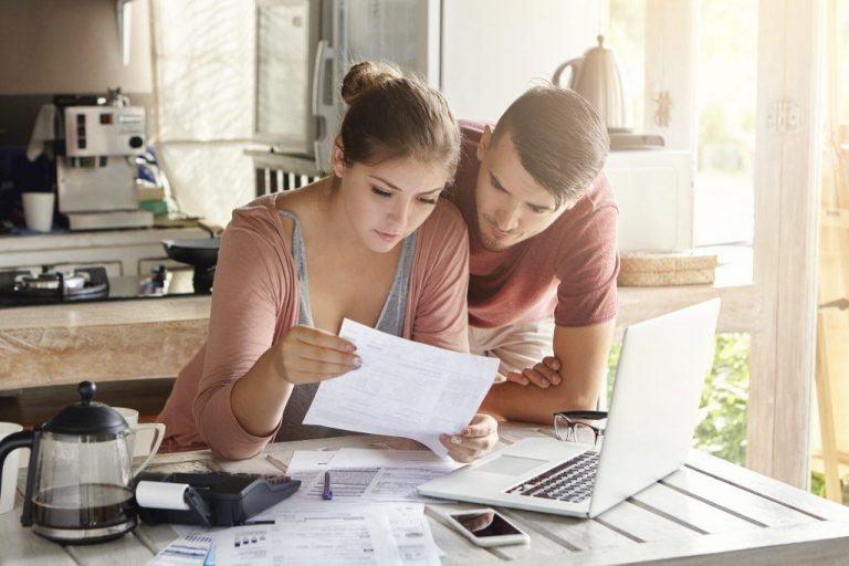 Geldzorgen en uitkering